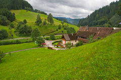 Beautiful landscape in the Black Forest Stock Photography