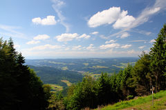 Beautiful landscape in the Black Forest in Germany Royalty Free Stock Photos