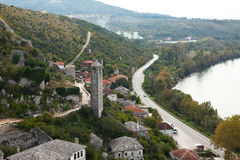 Beautiful landscape in Bosnia and Herzegovina Stock Images