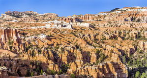 Beautiful landscape in Bryce Canyon with magnificent Stone forma Royalty Free Stock Photo