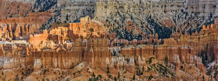 Beautiful landscape in Bryce Canyon with magnificent Stone forma Stock Photography