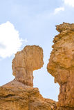 Beautiful landscape in Bryce Canyon Royalty Free Stock Images