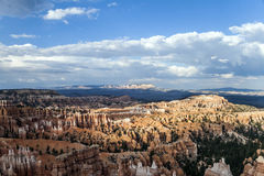 Beautiful landscape in Bryce Canyon with magnificent Stone formation Stock Images