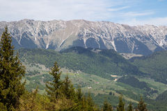 Beautiful landscape in Bucegi mountain Royalty Free Stock Images