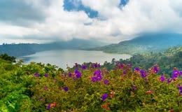 Beautiful landscape of Buyan lake Royalty Free Stock Image