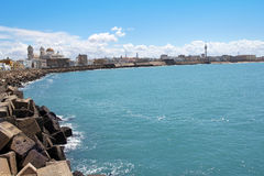 Beautiful landscape of Cadiz, Spain Stock Images