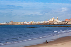Beautiful landscape of Cadiz, Spain Stock Image
