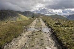 Beautiful landscape in Cairngorm Mountains. Royal Deeside, Braemar, Aberdeenshire, Scotland stock photos