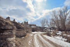 Beautiful landscape in Cappadocia Stock Image