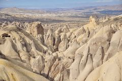 Beautiful landscape in Cappadocia Stock Photo