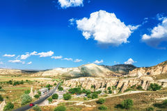 Beautiful landscape in Cappadocia Royalty Free Stock Images