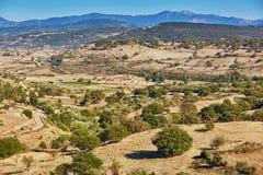 Beautiful landscape in central Sardinia, Italy. Beautiful natural landscape in central Sardinia, Italy Stock Photo