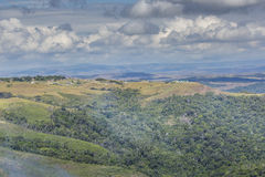 Beautiful landscape characteristic for the Gran Sabana - Venezue Stock Photography
