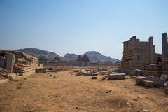 Beautiful landscape of city of Hampi in India Royalty Free Stock Image