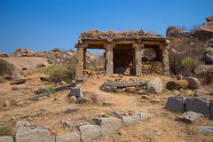 Beautiful landscape of city of Hampi in India Royalty Free Stock Photography