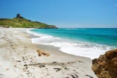 Beautiful landscape of the coast of Sardinia Stock Photography