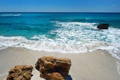 Beautiful landscape of the coast of Sardinia Royalty Free Stock Photos