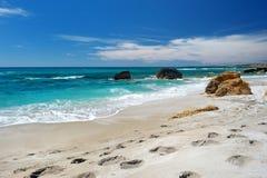 Beautiful landscape of the coast of Sardinia. Scenic landscape of the coast of Sardinia Stock Photos