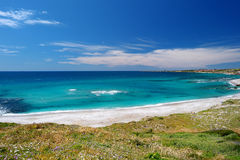 Beautiful landscape of the coast of Sardinia Royalty Free Stock Photography