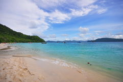 Beautiful landscape of Coral Island Stock Photography