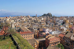 Beautiful landscape of Corfu, Greece Stock Photos