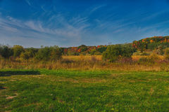 A Beautiful landscape. The country side in West Bend Stock Image
