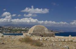 Beautiful showplace in Crete Stock Photos