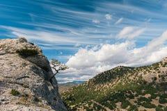 Beautiful landscape of Crimea, Ukraine Stock Image