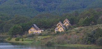 Beautiful landscape at Dalat village Royalty Free Stock Photo