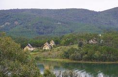 Beautiful landscape at Dalat village Royalty Free Stock Images
