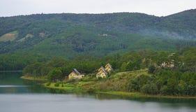 Beautiful landscape at Dalat village Stock Photo