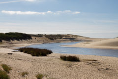 Beautiful landscape of desert hills Stock Images