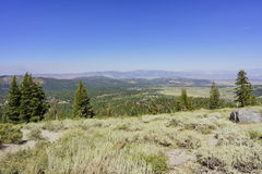 Beautiful landscape in the destination of Panorama Dome Trail. In Mammoth Lake Royalty Free Stock Images
