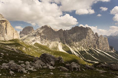 Beautiful landscape on Dolomites Mountain, Italy Royalty Free Stock Image