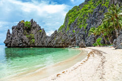 Beautiful landscape in El Nido, Philippines. Beautiful landscape scenery in El Nido, Philippines royalty free stock photography