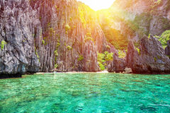 Beautiful landscape in El Nido, Philippines Stock Images