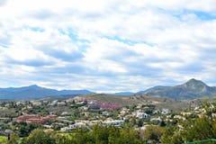 a beautiful landscape of Estepona, Costa del Sol, Spain Stock Photo