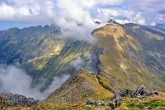 Beautiful landscape in Fagaras Mountains Stock Image