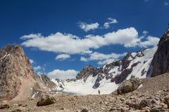 Fann mountains. Beautiful landscape of Fann Mountains, Tajikistan Royalty Free Stock Image