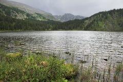 Beautiful landscape fifth Karakol lakes Royalty Free Stock Photography