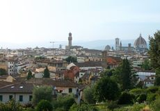 Beautiful landscape of Florence, Italy, with Duomo Stock Photography