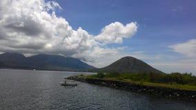 Beautiful landscape from fort kalumata Royalty Free Stock Photography