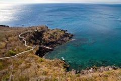 Beautiful landscape of Frigate bird hill, San Royalty Free Stock Photography