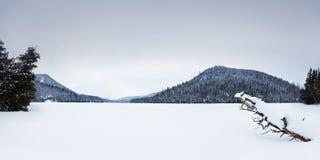 Crazy lake landscape Stock Photos