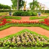 Beautiful landscape gardening design Royalty Free Stock Image