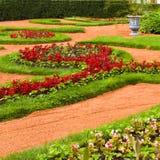 Beautiful landscape gardening design Royalty Free Stock Photos