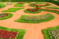 Beautiful landscape gardening design Royalty Free Stock Images