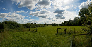 Nature. A beautiful landscape in germany Royalty Free Stock Images