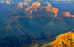 Beautiful Landscape of Grand Canyon Royalty Free Stock Photos