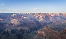 Beautiful Landscape of Grand Canyon north rim during dusk Stock Photography